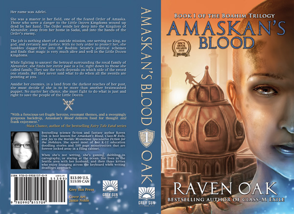 amaskan s blood raven oak