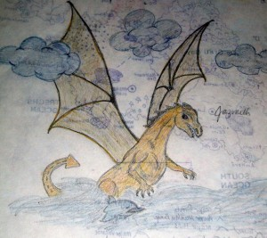 A Dragon and a map