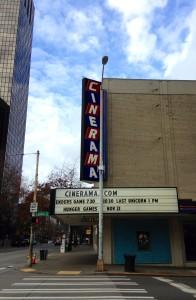 The Last Unicorn at the Cinarama Theater