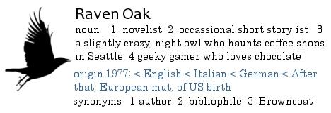 Welcome to Raven Oak [dot] net