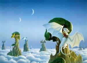 The White Dragon by Michael Whelan