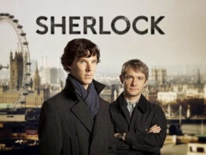 Sherlock TV Series shot