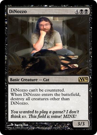 DiNozzo MTG Card