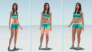 Sims Sliders