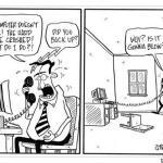 Hard Drive Crash comic