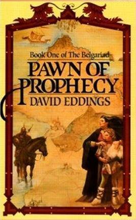 Pawn of Prophecy by David Eddings Book Cover