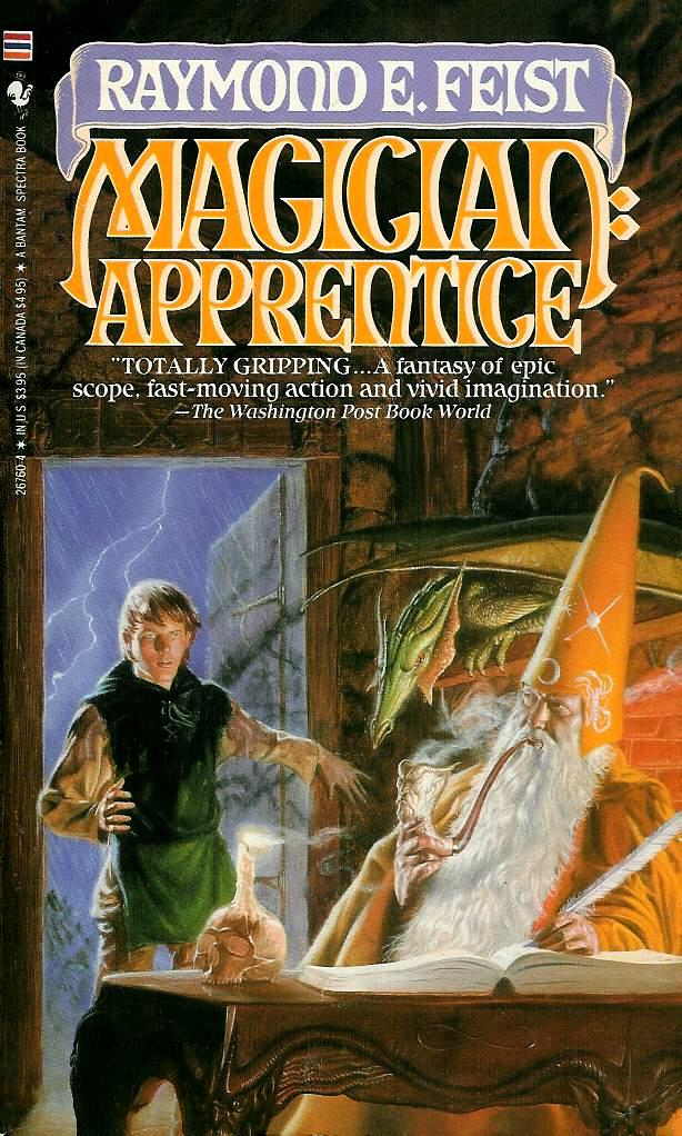 Magician: Apprentice by Raymond E. Feist Book Cover