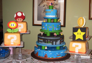 Mario Cake from ThinkGeek