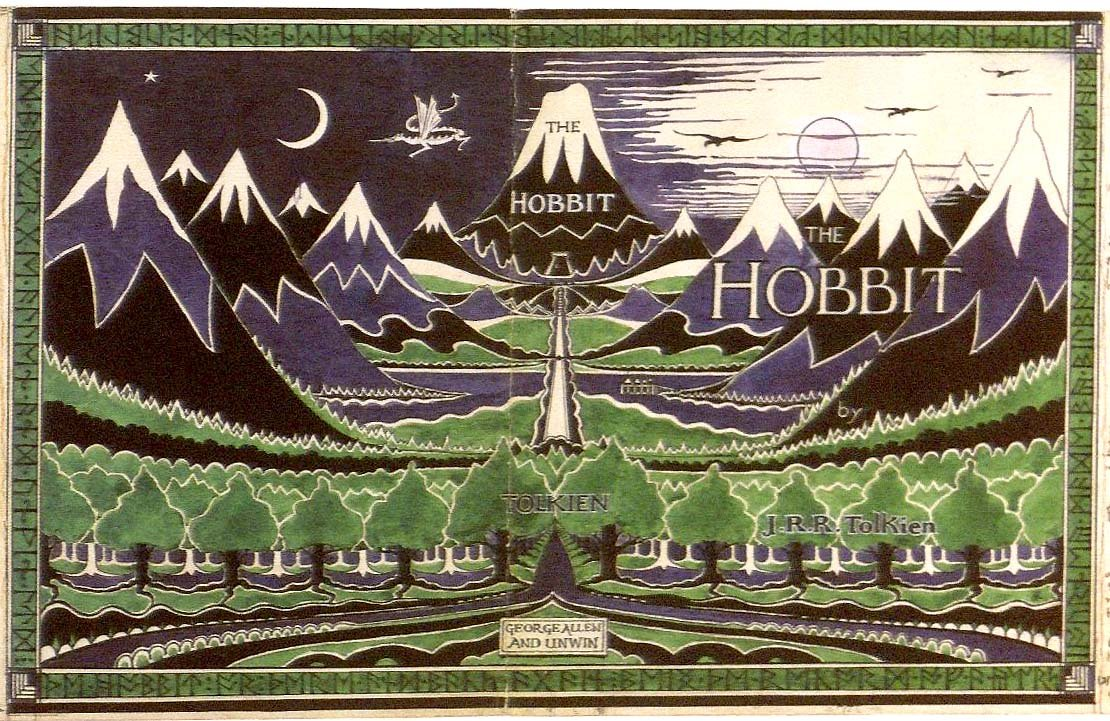 The Hobbit J.R.R. Tolkien Book Cover