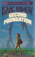 Second Foundation by Isaac Asimov Book Cover