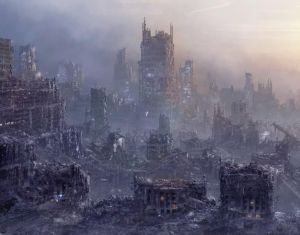 Flashback Friday: Dystopia picture of a dystopian city