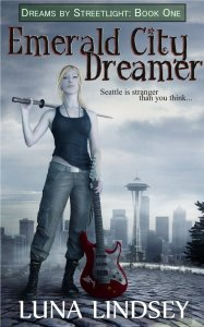 Emerald City Dreamer by Luna Lindsey book cover