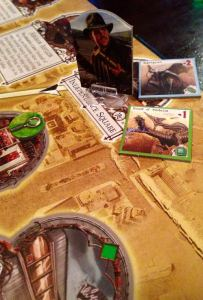 My husband is about to die in this game. Monday Night Gaming: Arkham Horror.
