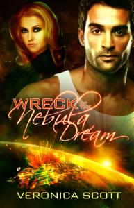 Wreck of the Nebula Dream by Veronica Scott Book Cover