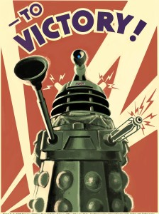 Exterminate! Dalek from Doctor Who