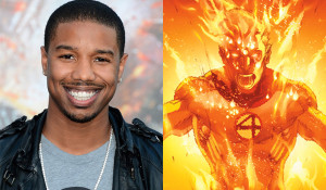 Next Human Torch played by African American actor