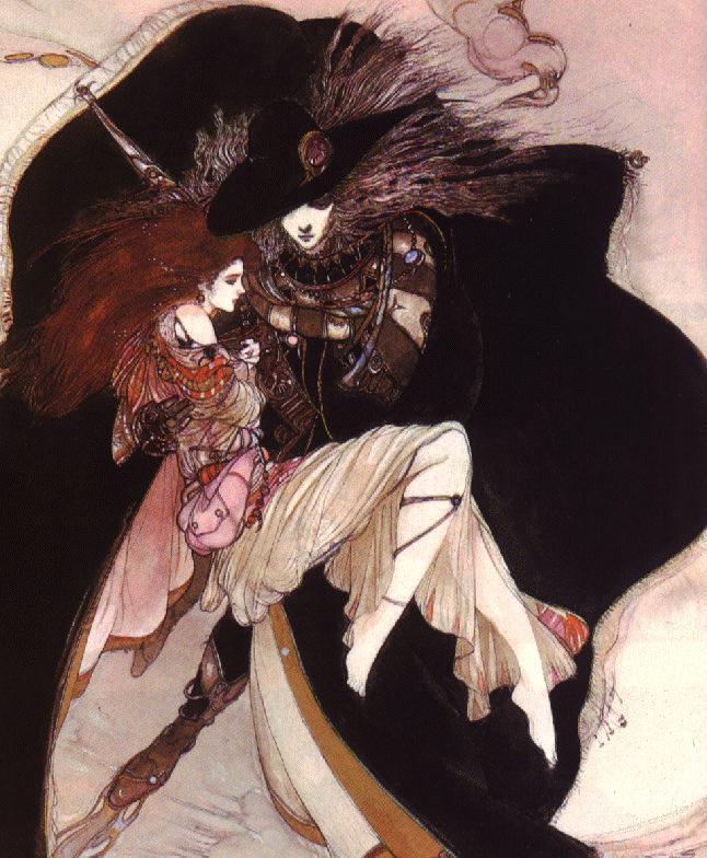 Artwork by Yoshitaka Amano