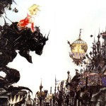Final Fantasy VI Box Art by Amano