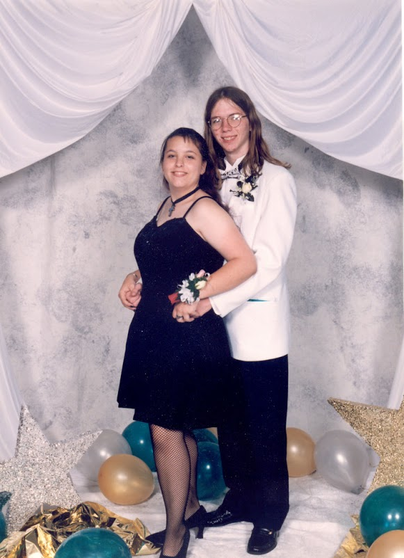 Raven Oak and Erik Carson GHS Prom