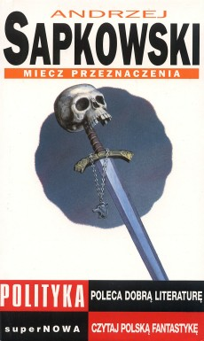 Polish cover for Sword of Destiny