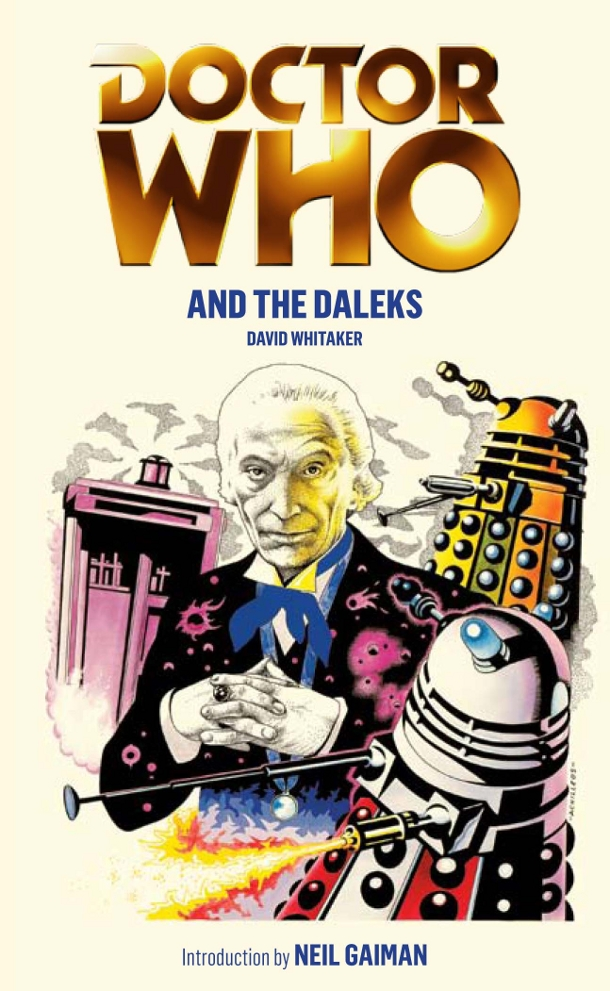 Book Cover Throwback: Doctor Who and the Daleks