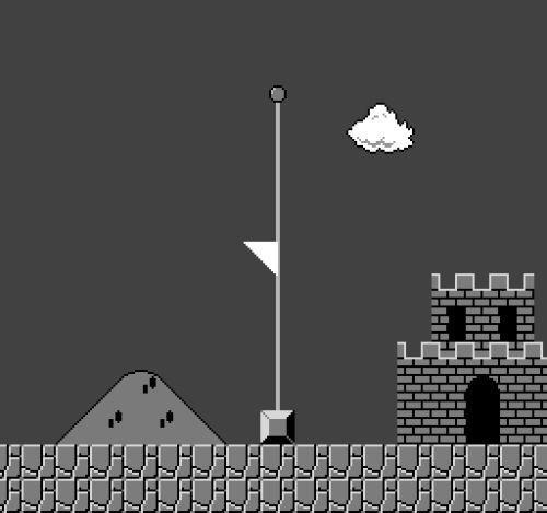 Mario Half-Mass