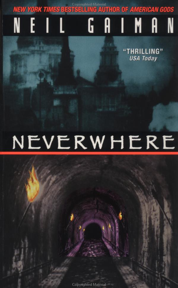 Book Cover Throwback: Neverwhere by Neil Gaiman