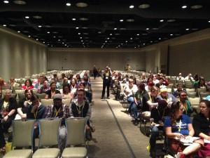 GeekGirlCon Panel room 2015