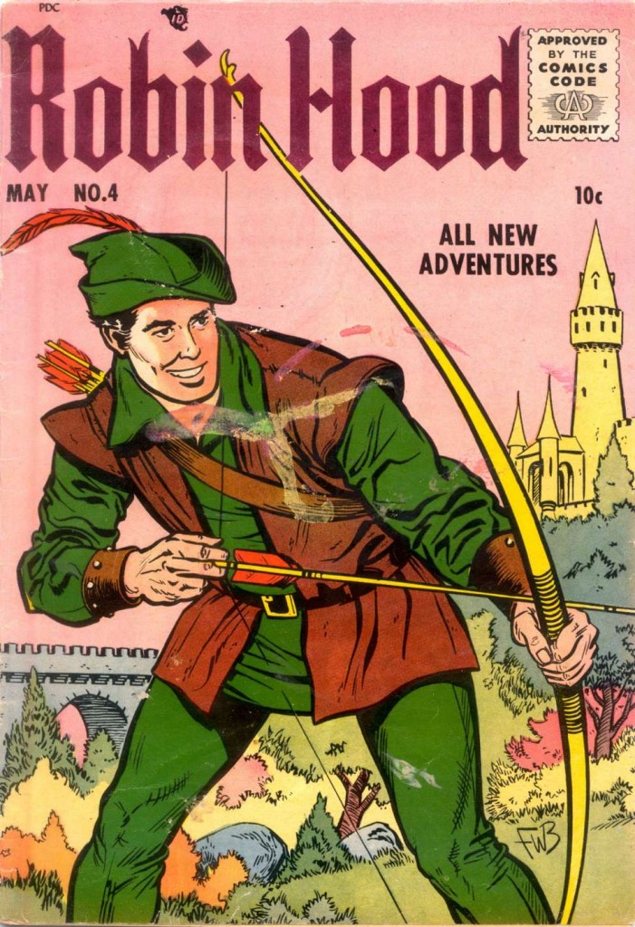 Robin Hood Comic Cover