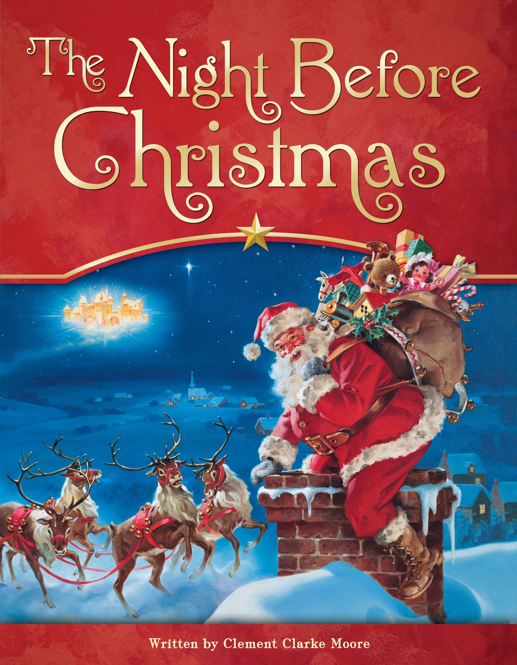 Book cover throwback the night before christmas raven oak