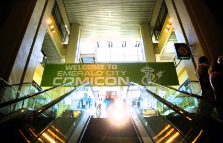 ECCC Wrap-Up Emerald City Comicon Sign