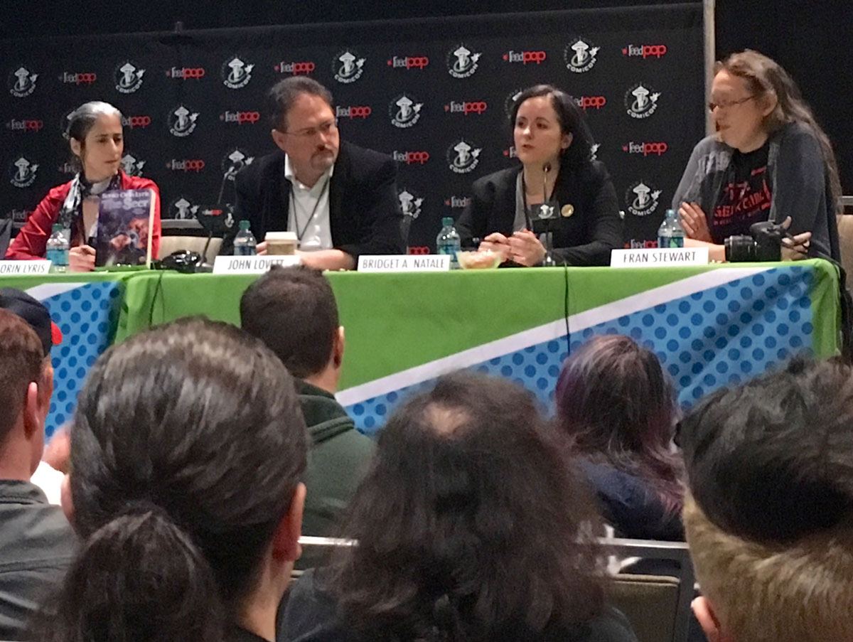 ECCC Wrap-Up I Need a Hero panel 2016 Comicon