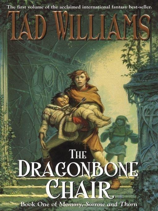 Fantasy Adventure Book Cover : Tt the dragonbone chair raven oak