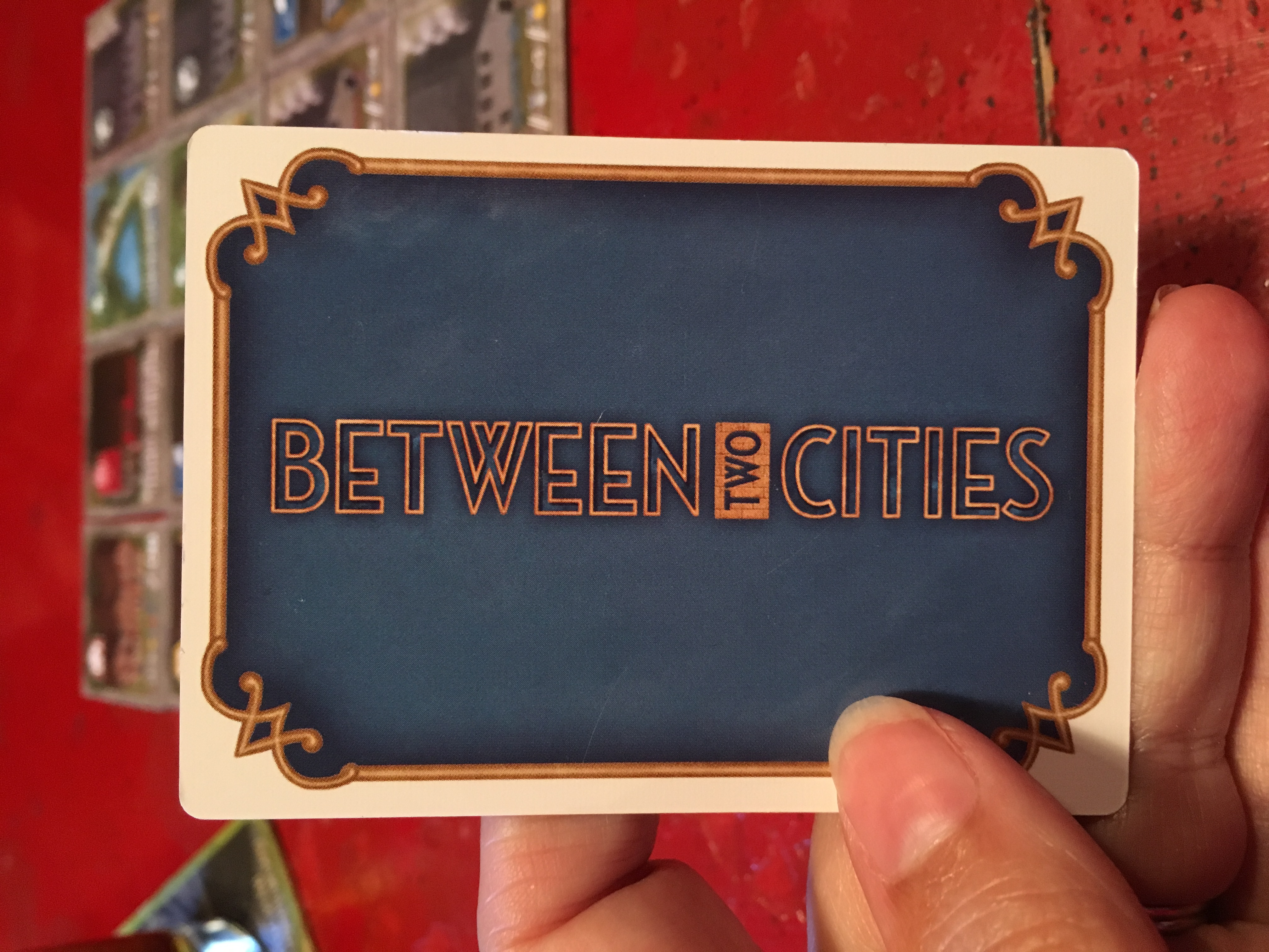 Monday Night Gaming: Between Two Cities