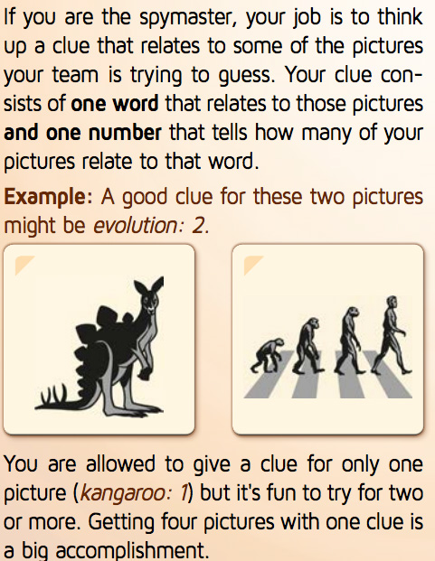 Codenames Pictures Clues