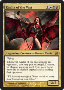 kaalia magic card
