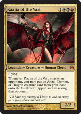Kaalia of the Vast Magic the Gathering card