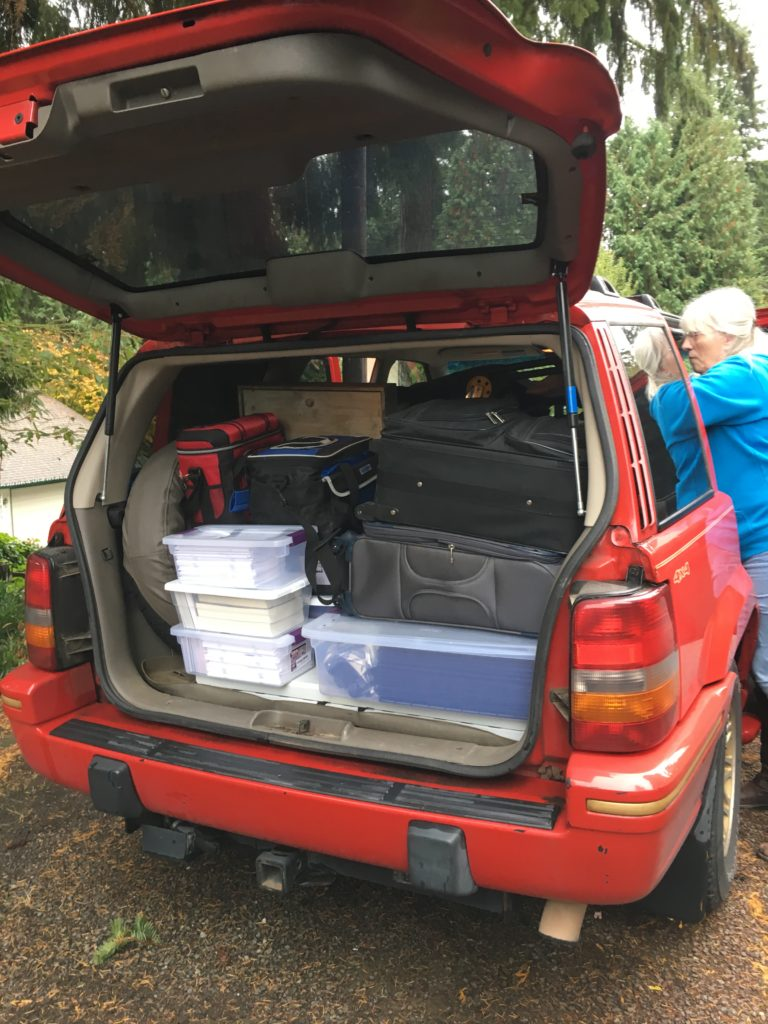 Loaded up