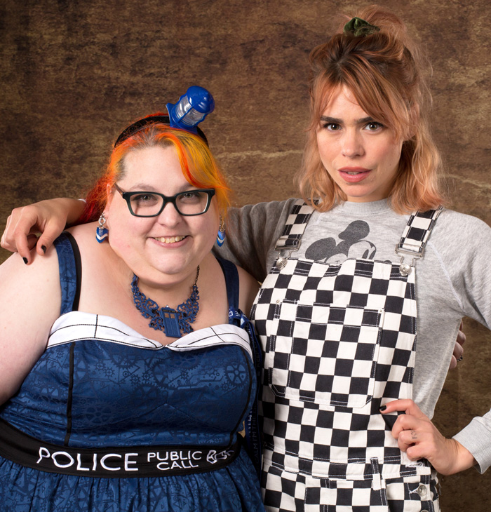 Billie Piper & Raven