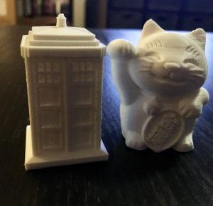 TARDIS and Neko