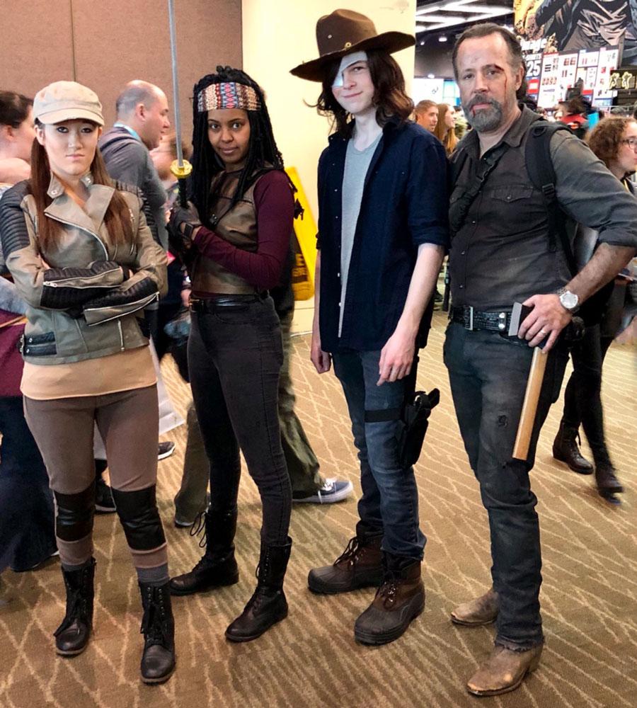 Walking Dead cosplay