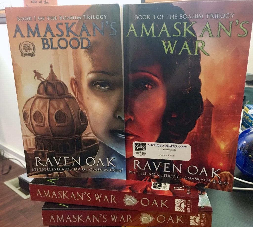 Amaskan's War ARC