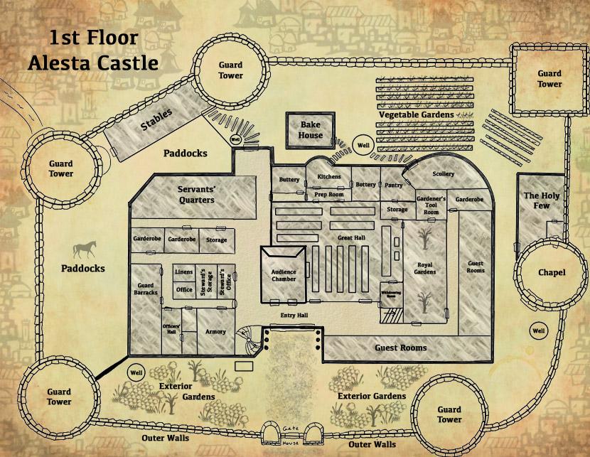 First Floor Alesta Castle