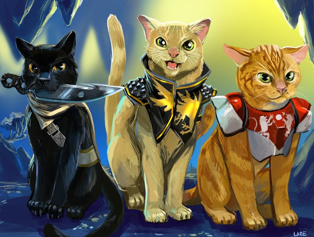 Feline Fireteam
